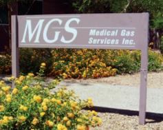 Medgas Sign